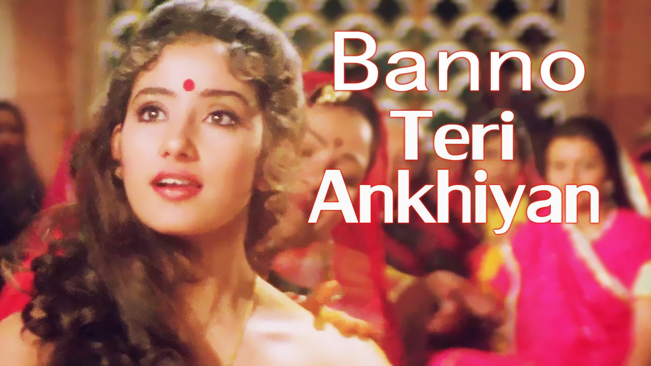 Download Banno Teri Ankhiyan Soorme Mp3 Song for free from pagalworld,Banno Teri Ankhiyan Soorme - Dushmani: A Violent Love Story song download HD.