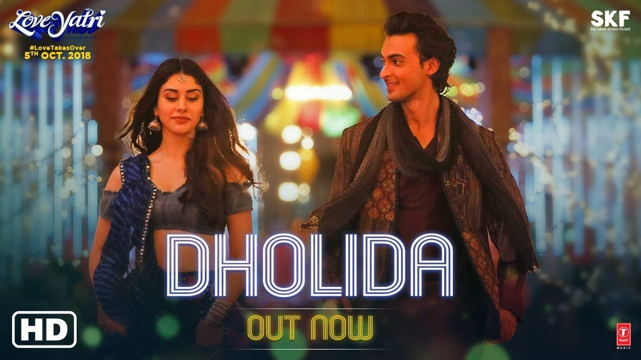 Download Dholida Mp3 Song for free from pagalworld,Dholida - Loveyatri song download HD.