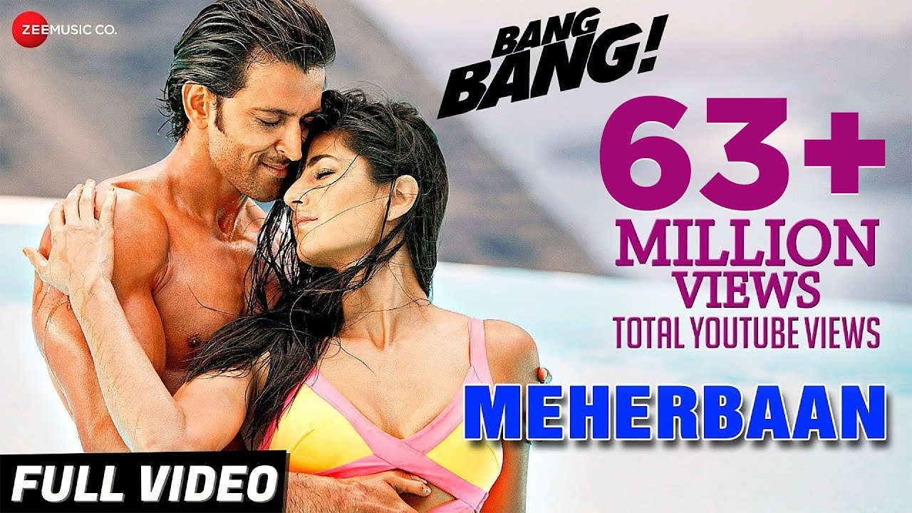 Download Meherbaan Mp3 Song for free from pagalworld,Meherbaan - Bang Bang! song download HD.