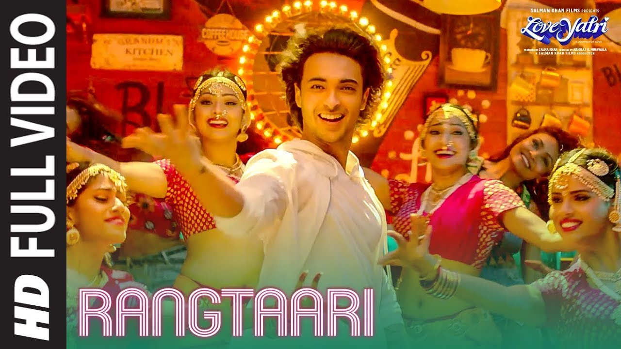 Download Rangtaari Mp3 Song for free from pagalworld,Rangtaari - Loveyatri song download HD.